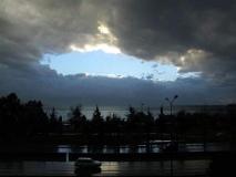 Gök delindi [Fotoğraf : Utku Bolulu]