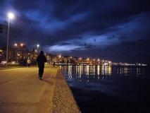 Sahil-gece [Fotoğraf : Berk Altınışık]